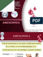 Amenorrea 2015
