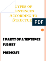 Sentence Types Workshop