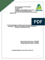 Plan de Monitoreo Malezas y Plagas