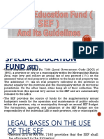 Special Education Fund ( SEF ).pptx
