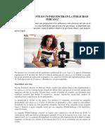 Cuán Relevante Es Un Influencer en La Publicidad Peruana