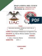 Informe- Deontologia- II Aporte