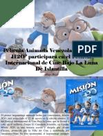 Diego Ricol - Película Animada Venezolana Misión H2O Participará en El Festival Internacional de Cine Bajo La Luna de Islantilla