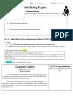 seatbelt safety reading
