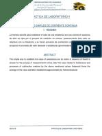 Informe de Resistores PRESENTAR