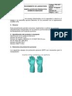 Manipulacion de Productos Quimicos AA2