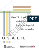 Línea Técnica 2019 USAER-SEIEM