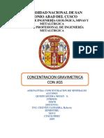 Concentracion de Minerales (2)