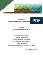 Proyecto Exportacion de Nopal a Estados Unidos