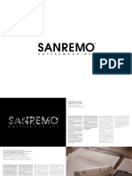 Catalogo SANREMO Linea