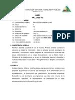 Silabo de Tics -  San Nicolas