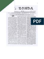 Sarmiento - El Zonda