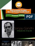 Sanjay Gandhi died.pptx