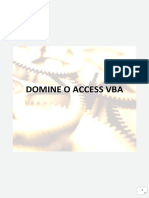Domine o Access VBA
