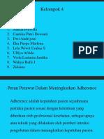 HIV AIDS Kelompok 3 (Peran Perawat Adherence).pptx