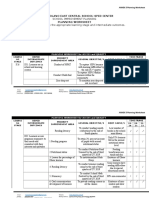 SIP Annex 5 Planning Worksheet 2019