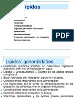 Lipidos I