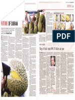 The Sweet Future of Durian