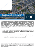 Highway planning
