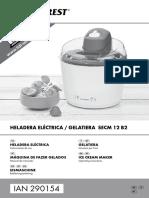 Heladera LIDL SilverCrest