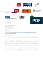 Joint Letter to President Ramaphosa (August 2019)