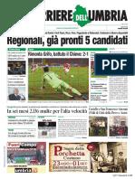 Rassegna stampa dell'Umbria lunedì 26 agosto 2019 UjTV News24 LIVE
