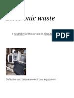 Electronic Waste - Wikipedia