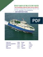 Ro-Ro pax vessel