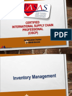 Session 7 - Inventory Management