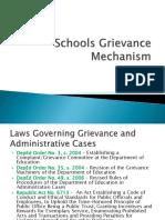 Schools Grievance Mechanism