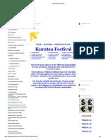 - Kuratsa Festival