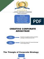 A02 Creating Corporate Advantage - PANKAJ SHARMA