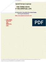 Three Ways of Spiritual Life - Garrigou-Lagrange