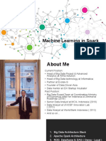 Machine Learning in Spark