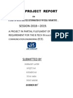 A Project Report (1)