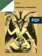Hombre y demonios dioses