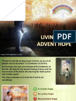 Living the Advent Hope