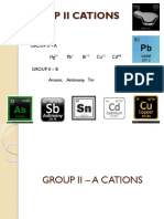 Group II Cations
