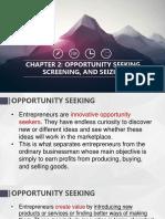 CHAPTER 2 Opportunity Seeking