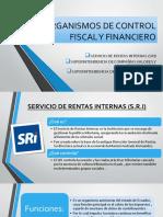 ORGANISMOS DE CONTROL FINANCIERO Y FISCAL