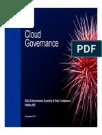 Cloud Governance ISACA KPMG 2017