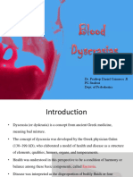 Blood Dyscrasias