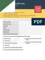 Nomination Form 2019 Individual14.05 APAC