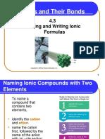 Naming and Writing Ionic Formulas