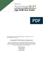Advantage BOM User Guide