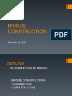 Bridge Const 19FEB2019