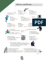 Kriminalitatbegriffe Phrasen1 Arbeitsblatter Bildbeschreibungen Leseverstandnis 25177