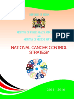 Kenya Government Cancer Strategy