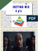 Market Mix 4 P's