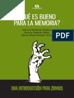 ¿QUÉ ES BUENO PARA LA MEMORIA?